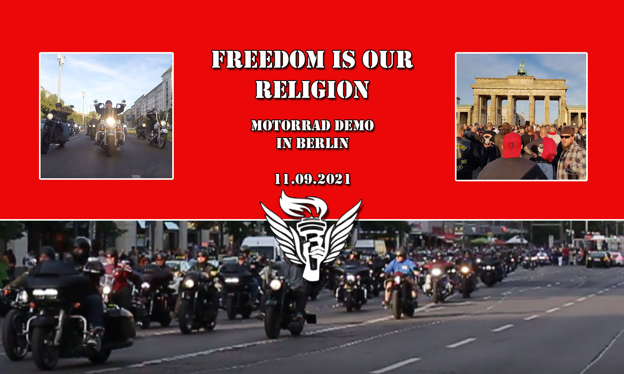 Freedom is our Religion